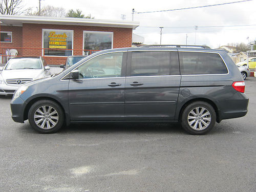 2005 HONDA ODYSSEY green 4dr 3rd row seat alloys psunroof v6 auto loaded pw pl cd leather