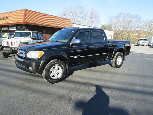 2006 TOYOTA TUNDRA LIMITED 4x4 new tires leather psunroof Crew Cab TRD Off-Road tow pkg shar