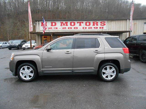 2011 GMC TERRAIN SLT-1 sunroof leather power everything 1 owner 241877 11999 HD MOTORS KPT