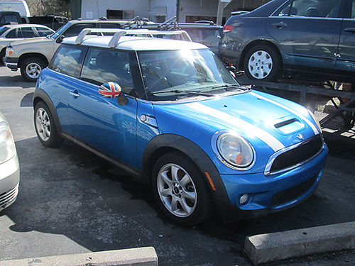 2007 MINI COOPER S 4cyl 6sp turbo all power cd cruise keyless entry 101k miles alloys good c