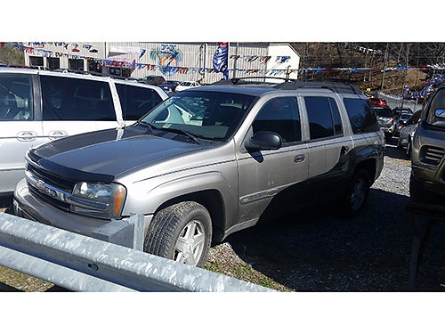 2003 CHEVY TRAILBLAZER LT 3rd row 4X4 1812 5695 JJ AUTO SALES Kingsport TN