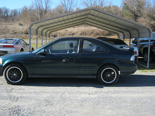 1998 HONDA CIVIC black rims pwr sunroof air ps pb 0801 3295 JIMS 11E AUTO SALES Jonesborou