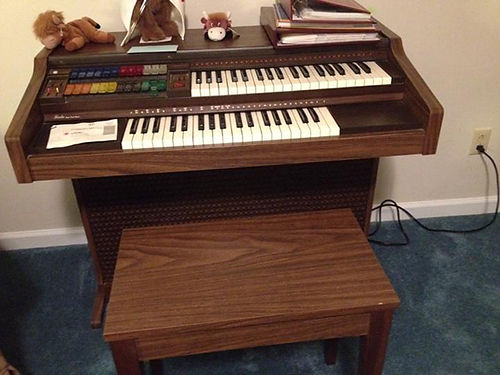 ORGAN mdl Fiesta wMagic Jeanie-L22 works great GC buyer must transport 250 423-854-0073