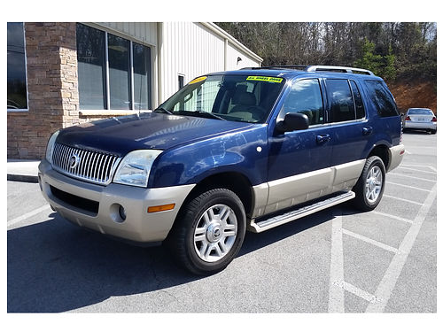 2004 MERCURY MOUNTAINEER v8 AWD leather loaded CS7657R Gateway Auto Center Jonesborough TN