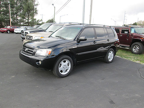 2006 TOYOTA HIGHLANDER LIMITED V6 auto AWD fully loaded 1876 Was 10900 Now 9900 LIGHTNING A