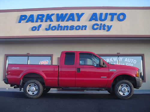 2006 FORD F250 60 diesel 4x4 6 speed manual 85k J-D74134 16950 PARKWAY AUTO OF JC