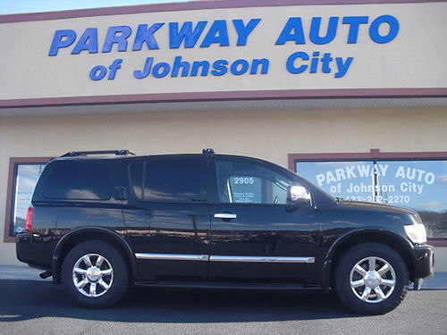 2007 INFINITI QX56 Has every option in the book 148k mi J-802293 14950 PARKWAY AUTO OF JC