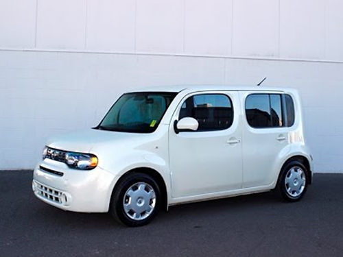 2011 NISSAN CUBE white 4cyl Come be Surprised CS2735 Gateway Auto Center Jonesborough TN
