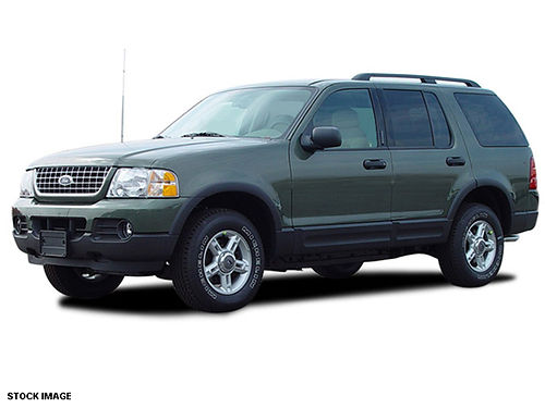 2003 FORD EXPLORER XLT 4x4 green v6 Nice Low miles CS7948 Gateway Auto Center Jonesborough