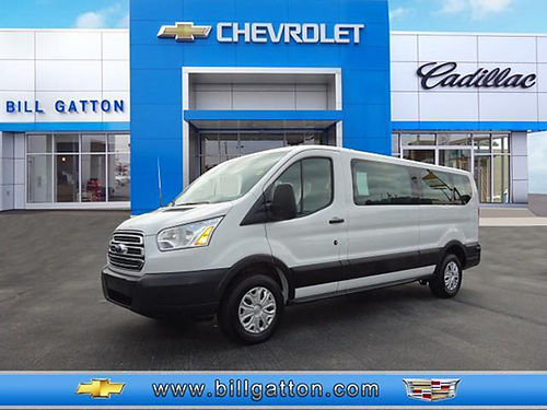 2015 FORD TRANSIT 350 XLT 15 pass low top 6cyl pw pl 28k 59049P 23599 23777 BILL GATTON