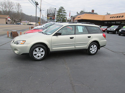 2005 SUBARU OUTBACK AWD heated leather auto all power excellent cond local trade Price to Sell
