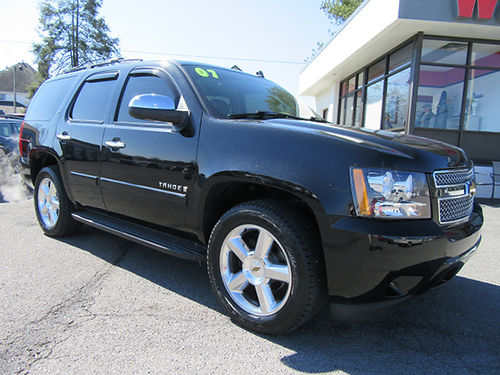 2007 CHEVY TAHOE LTZ 4WD K4158A 16995 WALLACE USED CARS BRISTOL