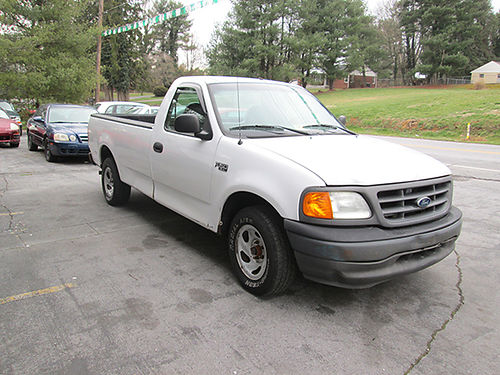 2004 FORD F150 HERITAGE v6 auto white leather alloy wheels 177k 19472 3500 ALLEN HODGE MOTORS