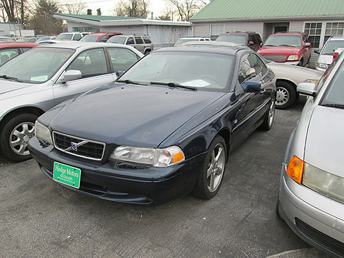 2001 VOLVO C70 6cyl auto blue leather all power 2dr air amfm cd 215k 19145X 3400 ALLEN H