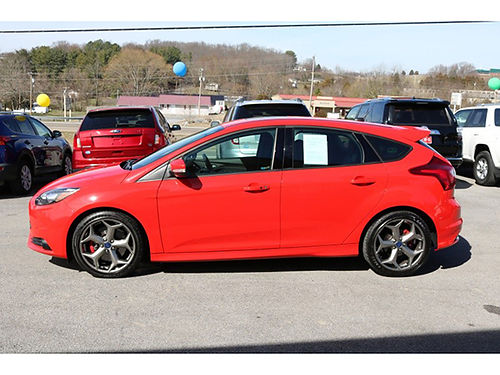 2014 FORD FOCUS ST 5dr HB red 18k miles 394 20000 LEGG MOTOR CO