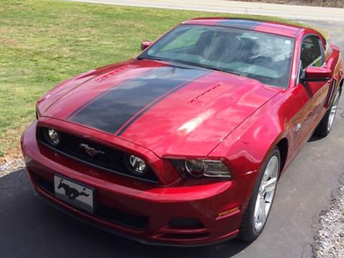 2014 MUSTANG GT PREMIUM RUBY RED, BLACK ...