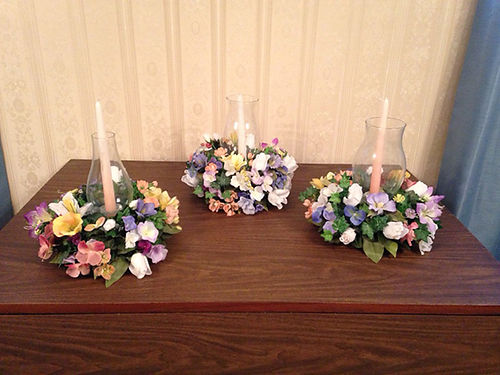 FLOWER ARRANGEMENTS Beautiful multi color ideal for weddings receptions anniversaries parties e