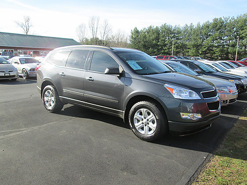 2012 CHEVY TRAVERSE LS 3rd row auto air cd alloys nice 87k miles 8882 Was 14900 Now 1390