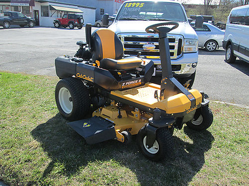 COMMERCIAL CUB CADET Zero turn one owner 3500 276-451-2641