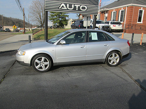 2004 AUDI A4 QUATTRO AWD 18T auto leather psunroof fully loaded 117k AA41 5450 HOUSER  SO