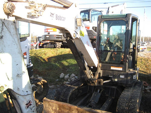 COMPACT EXCAVATOR 2012 Bobcat E55 with fuel efficient turbo diesel engine does the most challenging