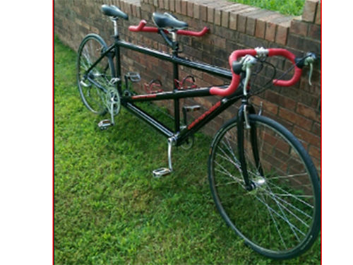 BICYCLE Cannondale Tandem 2119 24spd STI New Conti tires tubes FSA headset stem-n-tape In Gre