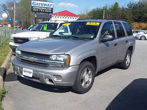 2007 CHEVY TRAILBLAZER silver 6cyl 152000 mi CS9029 Gateway Auto Center Jonesborough TN