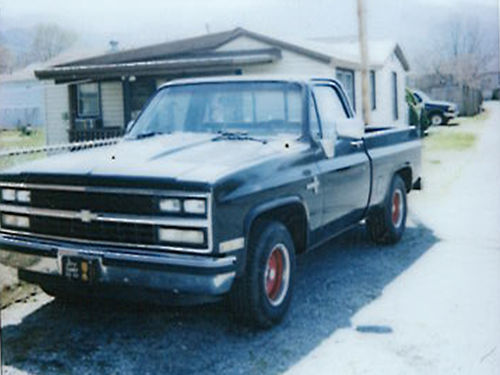 1986 CHEVY 350mt auto no rust steel cowl hood very good tires posi rear very good paint 3250
