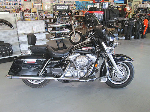 2007 HARLEY DAVIDSON FLHT Only 7495 Volunteer Cycle Sales