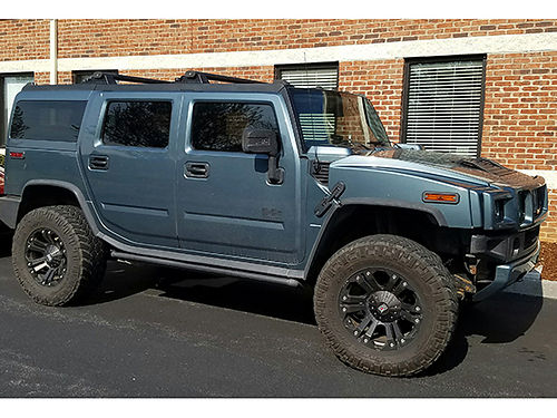 2008 HUMMER H2 One of a Kind Mash Motors Diesel Conversion 66 L Duramax Diesel Allison 6 speed