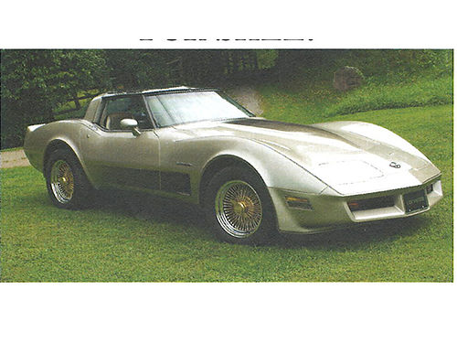 1982 CORVETTE Collectors Edition 7K miles complete restoration all new suspension interior  pain