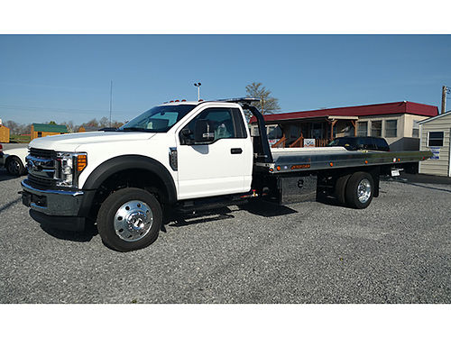 2017 FORD 550 XLT gas auto 4x4 20 alum Jerridan body wheel lift 68900 276-429-1144 see more t