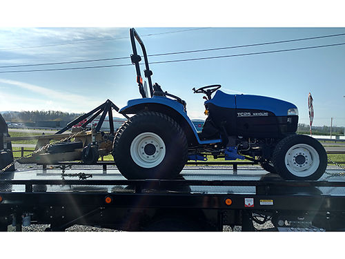 TRACTOR TC25 New Holland with Finish Mower rm8999 8900 RM Motors 276-429-1144