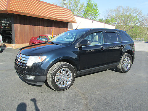 2008 FORD EDGE LIMITED AWD 6cyl leather psunroof fully loaded chrome wheels new tires local