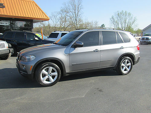 2008 BMW X5 30SI AWD 6cyl leather power roof fully loaded clean SUV Below book BM08X 1299