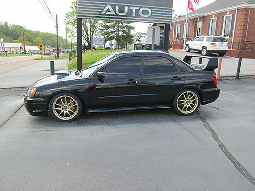 2005 SUBARU WRX STI AWD 6sp High wing new tires too many upgrades to list Sharp and Fast STi0