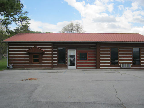 SALE OR LEASE 1350 sq ft building 901 South Mohawk Drive Erwin TN Contact Debbie Bacon 423-483-8