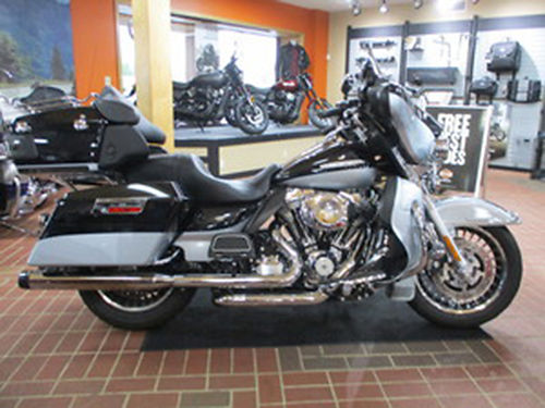 2012 HARLEY DAVIDSON FLHTK Electra Glide Ultra Limited Midnight PearlBrilliant Siver Pearl premiu