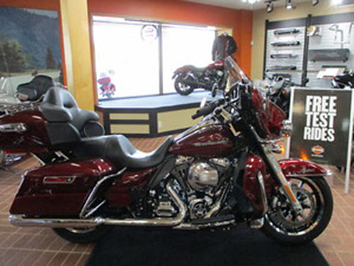 2016 HARLEY DAVIDSON FLHTKL Ultra Limited Low Mysterious Red Sunglow easy handling smooth riding