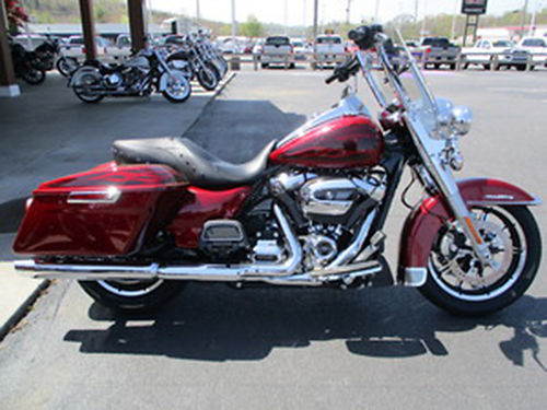2017 HARLEY DAVIDSON FLHR Road King Hard CandyHot Rod Red Flake save big on the Road King 1720