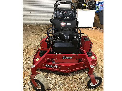 2013 VANTAGE Commercial stand-behind mower 48in cut Kawasaki eng great mower in great shape read