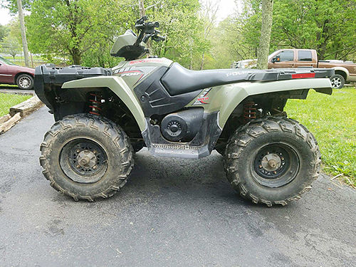 2005 POLARIS SPORTSMAN 700 Twin 255 hours 1082 miles Warn winch AWD on Demand auto EVS system