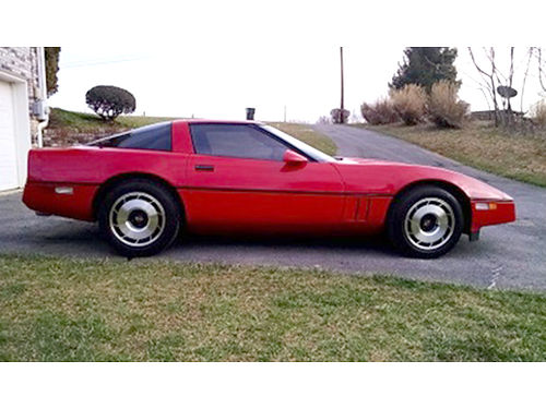 1985 CORVETTE 60k miles Runs strong NEW paint KN filter mufflers water pump  hoses more Go
