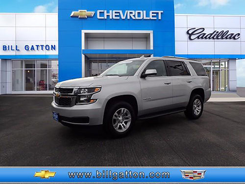 2016 CHEVY TAHOE LT leather auto 4WD loaded GM Certified 31k miles 11815P 44494 BILL GATTON