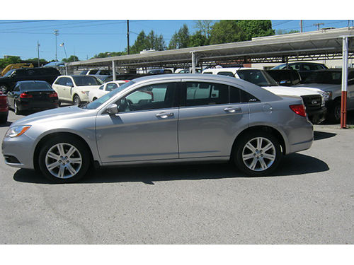 2013 CHRYSLER 200 grey 4dr pw pl alloys 4cyl auto 4314 7995 LEWIS USED CARS Elizabethton T