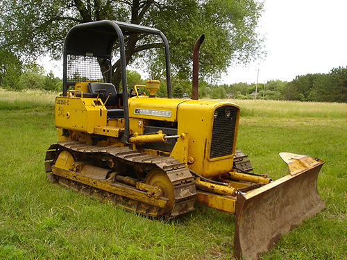 BULL DOZER John Deere 350B 6-way blade new rebuilt motor good tracks new sprockets  rollers wi