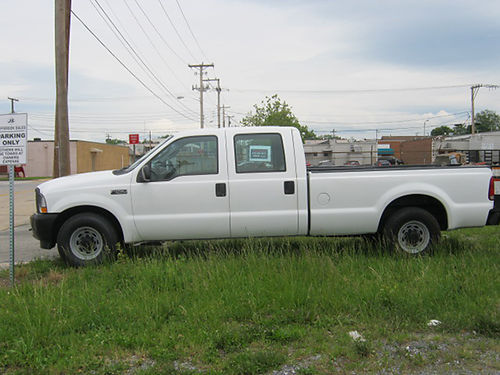2003 FORD F250 V8 crew cab work truck w1200lb lift gate 46000 miles new tires 9999 276-698-0917