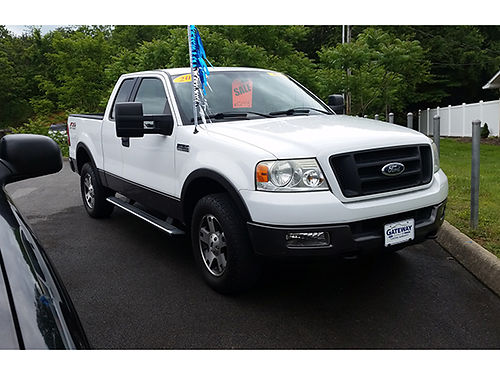 2005 FORD F150 Ext Cab white v8 155856 mi G4549 Gateway Auto Center Jonesborough TN
