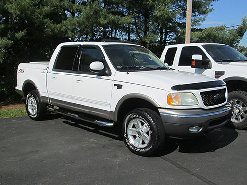 2003 FORD F150 LARIAT 4x4 all power nice local trade 12370B Was 12900 Now 11900 LIGHTNING