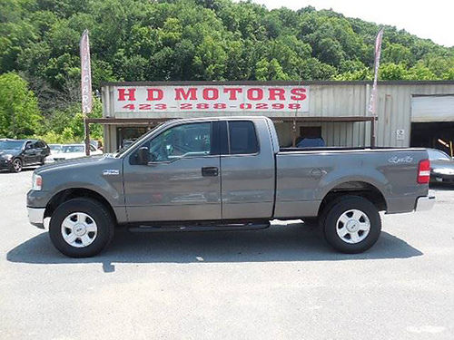 2004 FORD F150 XLT 4x4 v8 auto all power alloys Low miles A14927 10999 HD MOTORS KPT TN